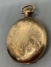 1913 Elgin Model 2 O'hara Dial Pocket Watch