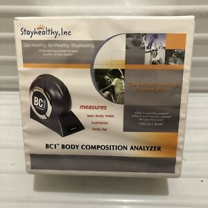 Body Composition Analyzer - StayHealthy.Inc Health And Fitness - Sealed NiB NOS!