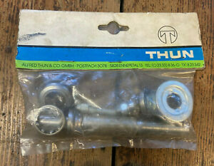 Thun Thompson Cottered Type Bottom Bracket Cups - 22mm Knock-In Cups *NOS