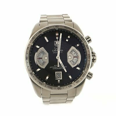 Tag Heuer Grand Carrera Chronograph Calibre 17 Automatic Watch Stainless Steel