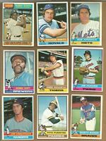 1976 TOPPS BASEBALL CARDS: $69.87 for 100 Cards