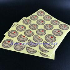 Vintage Kraft Sticker Hand Made With Love Sticker 38mm Hand Made DIY 120pcs/lot