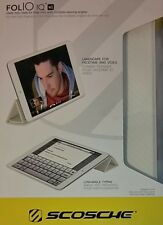 Scosche Folio Case for iPad Mini (IPDMSPCCFW) White B1029