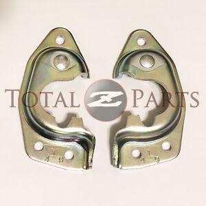 Datsun 240Z 260Z 280Z Door Latch Strikers Set, Left & Right *NOS, OEM Original*