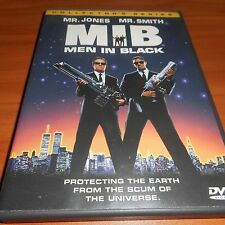 Men In Black (Dvd, 2000, Widescreen) Tommy Lee Jones, Will Smith Used