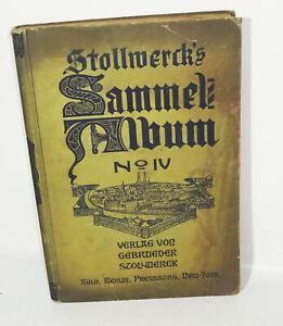 Stollwerck Sammelbilderalbum No IV 1900 Sammelbilder !
