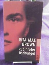 Rubinroter Dschungel von Rita Mae Brown (2002, Taschenbuch)