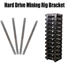 """2-16 HDD Mining Rig Frame 3.5"""" Hard Drive Stainless Steel Bracket Miner XCH FIL"""