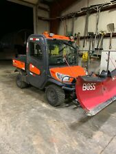 New listing Kubota Rtv X-1100C Hydraulic, Boss V Plow, Light, Boss Spreader