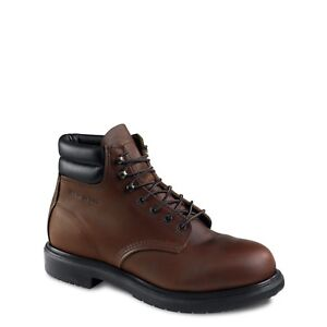 """new RED WING #2245 SUPERSOLE 6"""" BOOT ELECTRICAL HAZARD EEE width SZ 8 , 7, 9"""
