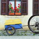 Bicycle Trailer Dual Wheels Storage Bike Camp Transport Cargo Sturdy Luggage