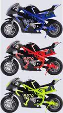 New listing MotoTec Gas Pocket Bike GT 49cc 2-Stroke, Cap.170# Age:13+