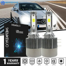 2PC H15 LED Headlight High Beam DRL for Mercedes Benz CLA250 CLA45 AMG 2014-2016
