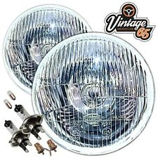 "Land Rover 24v LHD Series 1 2 3 7"" Sealed Beam Halogen Conversion Headlights"