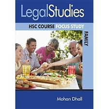 Legal Studies HSC Course: Focus Study Family 2nd Edition (Year: 11, 12)