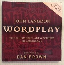 WORDPLAY John Langdon The Philosophy Art Science Of Ambigrams PB 2005 GOOD COND