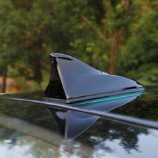 Black Universal Car Roof Radio Amfm Signal Shark Fin Style Aerial Antenna Cover Fits 2013 Kia Sportage