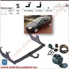 AHK ES13 Dacia Logan Kombi Bj.2007-2013 Anhängevorrichtung Anhängerkupplung AHZV