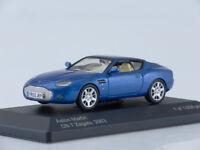 Scale model 1/43 Aston Martin DB7 Vantage Zagato, metallic-blue 2003