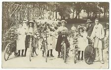 Group of Cyclists in Fancy Dress, Unposted, Hastings or Deal Area