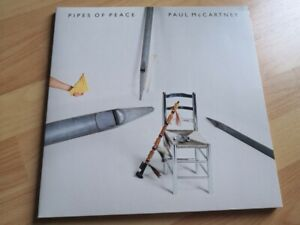 Paul McCartney Pipes Of Peace LP Vinyl +MP3 (Reissue, Remastered 2017) - Beatles