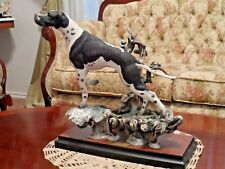 """""""Pointer"""" - Mint Condition w/COA   554S """"this is #7/975"""" by Giuseppe Armani"""