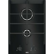 AEG HC412001GB 36cm Gas Hob Black Ceramic Glass Brand New!!