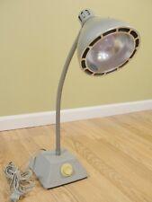 Vintage American Printing House F/T Blind Industrial Goose Neck Desk Lamp WORKS