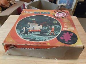 Whitman Major Matt Mason Round Junior Guild Jigsaw Puzzle Complete 1969 !!!