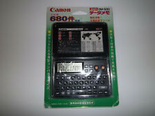 Vintage Canon DM-500 Organizer PDA Calculator Phonebook Memo NEW Japanese