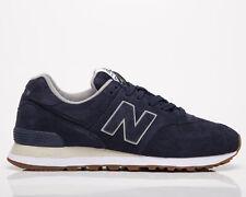 New balance 574 hombre pigmento Azul marino bajo Casuales Atléticas Zapatos Zapatillas de estilo de vida