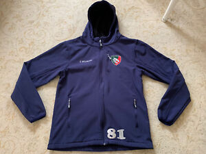 Leicester Tigers Player Issue Training Top Jacket Size Medium
