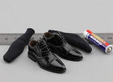 for Feet - 1//6 Scale Multifun Figures Black Boots Quarantine Zone Agent