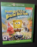 SpongeBob SquarePants [ Battle for Bikini Bottom Rehydrated ] (XBOX ONE) NEW