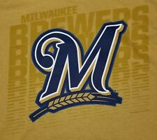 Men's Milwaukee Brewers Large T-Shirt Officially Licensed Genuine Merchandise