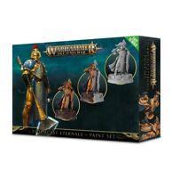 Warhammer Edad Of Sigmar Stormcast Eternals Paint Set GW Malset