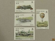Hong Kong QE II 1984 Aviation in Hong Kong set MNH. Superb