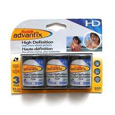 Vintage Kodak Advantix High Definition ISO 200 3 Pack Exp. 12/2005 25 Exposures