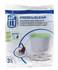 Catit Ersatzfilter, 3er-Pack für Catit Drinking Fountain, 3 Liter