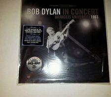 Bob Dylan In Concert Brandeis University 1963 Sealed vinyl copy. re-issue vinyl