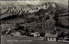 Oberjoch 1958 Hochallgäu Allgäu Schwaben Berge Iseler Alpen Landschaft Dorf Haus