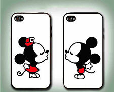 Personalized Love Couple Mouse Case- 2 Rubber Silicone Cases For iPhone 6 6S 6S+