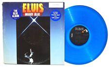 ELVIS PRESLEY: Moody Blue LP RCA RECORDS AFL124282 US 1977 Blue Vinyl NM-