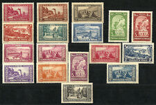MONACO, N°119/34 neufs **, série Paysages de 1933/7, cote 1220 euros.