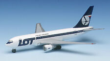 Herpa 504256 LOT Polish Airlines Boeing 767-200 1:500 Scale Diecast RETIRED 1995