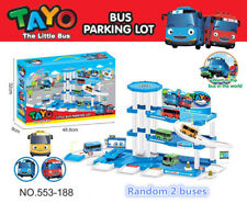 2019 New Tayo The Little Bus Tayo Bus Parking Lot Kid's Toy Car Set Kids Gift
