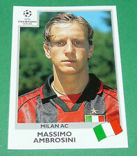 N°297 AMBROSINI MILAN AC ITALIA PANINI FOOTBALL CHAMPIONS LEAGUE 1999-2000