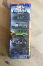 Matchbox Jurassic World Park Legacy Collection 5 Pack Explorers Jeep Toy Set