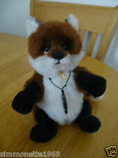 Charlie Bears Townend Mini Mo Fox designed by Isabelle Lee 2015