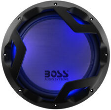 """NEW 12"""" DVC 1600w Subwoofer Bass.Replacement.Speaker.Blue Led lights.Car Audio."""